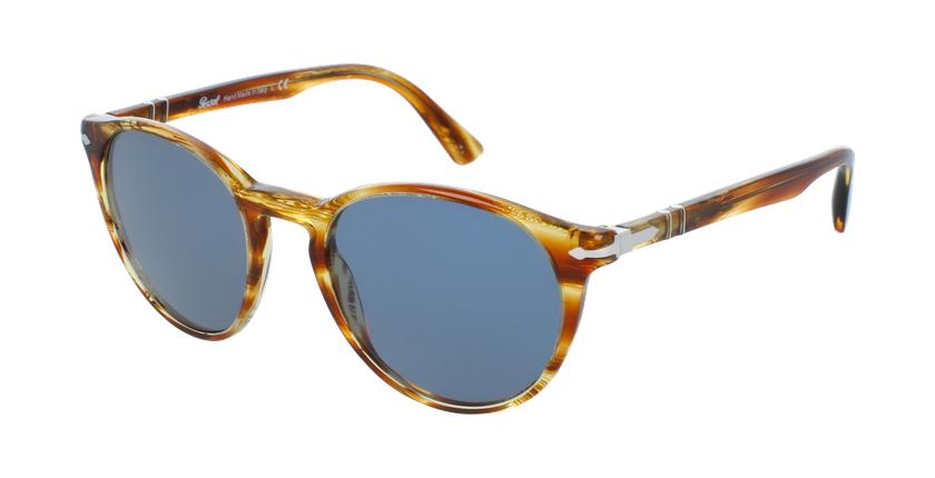 Gafas de sol hombre 0PO3152S marrón - vue de 3/4