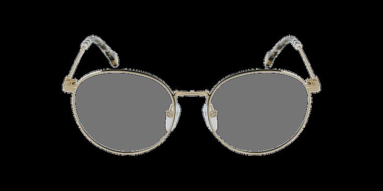 Gafas graduadas mujer VHE167 dorado/negrovista de frente
