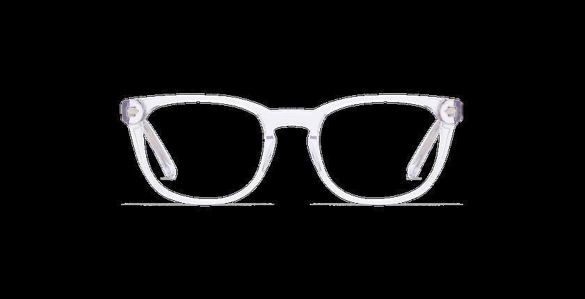 Gafas graduadas hombre LUCAS blanco - vista de frente