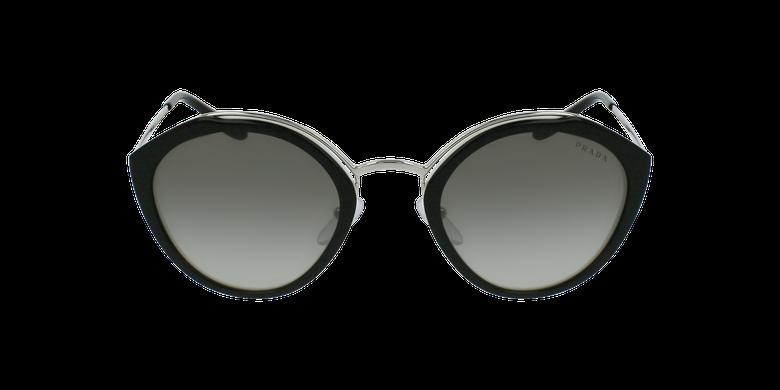 Gafas de sol mujer 0PR 18US negro/plateadovista de frente