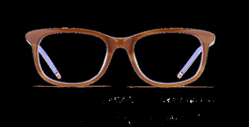 Gafas graduadas mujer MARJOLAINE marrón/morado - vista de frente