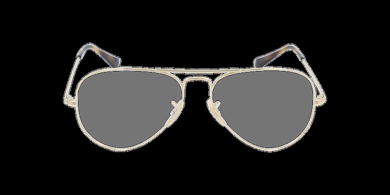 Gafas graduadas 0RX6489 doradovista de frente