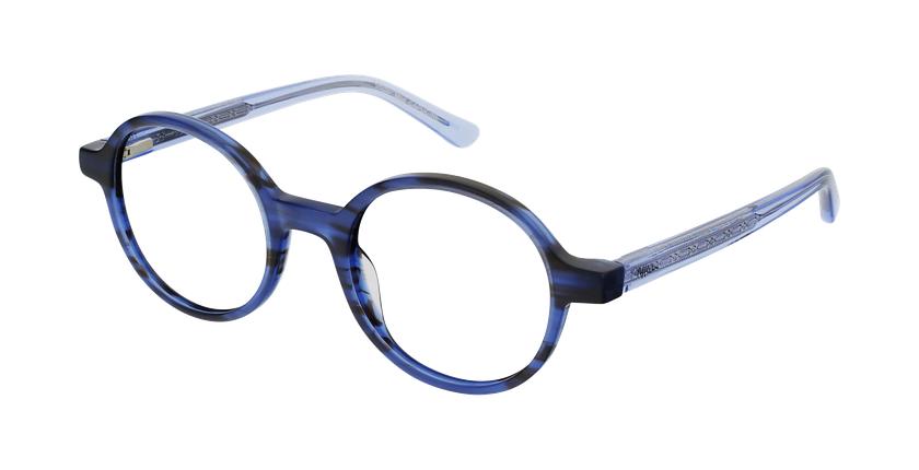 Gafas graduadas mujer OAF21619 azul - vue de 3/4