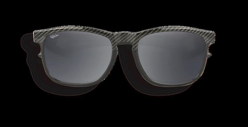 Gafas de sol niños LAYO negro - vista de frente