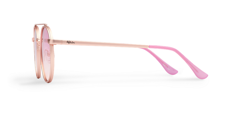 Gafas de sol MOHO rosa - vista de lado
