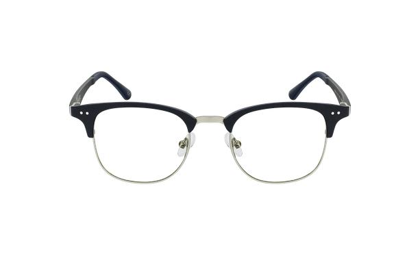 Gafas graduadas TMG92 azul/plateado - vista de frente