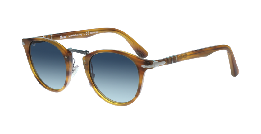Gafas de sol hombre 0PO3108S marrón - vue de 3/4