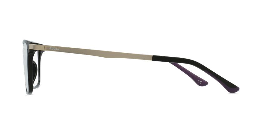 Gafas graduadas mujer MAGIC 61 BLUEBLOCK negro - vista de lado