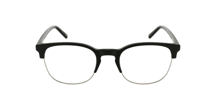 Gafas graduadas OWEN negro - vista de frente