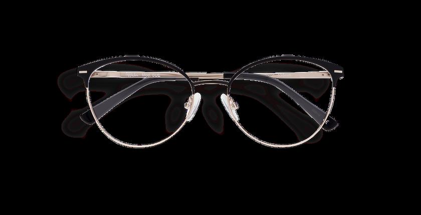 Gafas graduadas mujer SUE negro - vista de frente