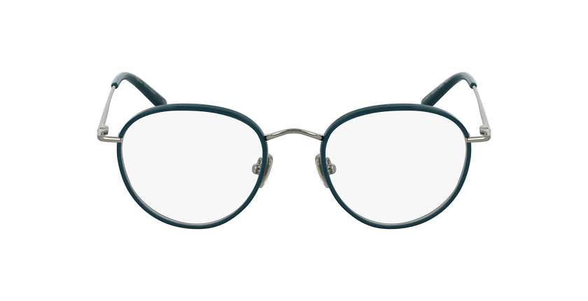 Gafas graduadas SHUBERT turquesa/plateado - vista de frente
