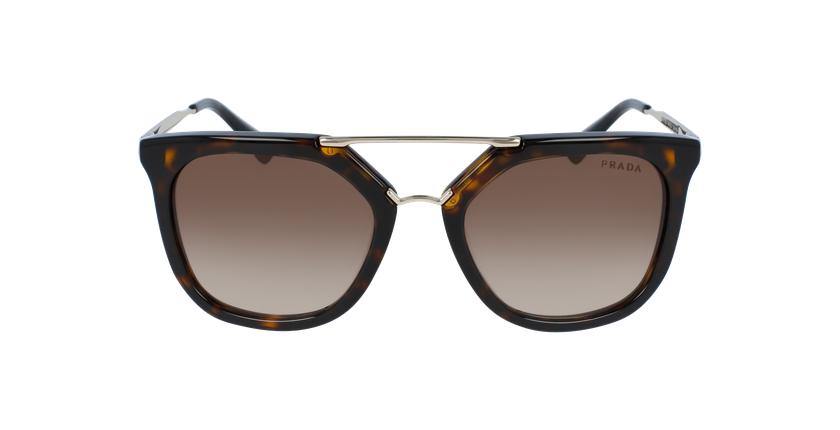 Gafas de sol mujer 0PR 13QS marrón - vista de frente