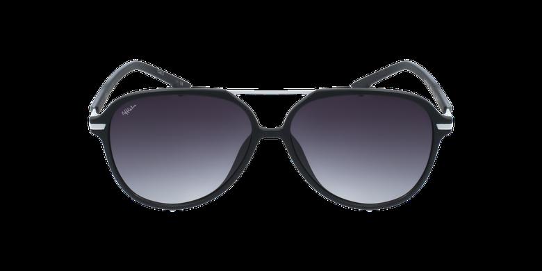 Gafas de sol hombre BASAURI negro/blanco