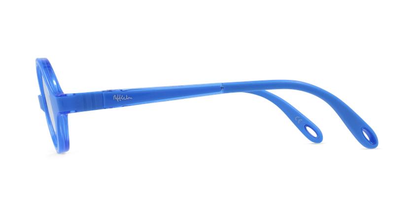 Gafas graduadas niños RFOB1 azul - vista de lado