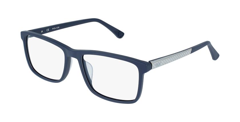 Gafas graduadas hombre VPL959 azul/azul - vue de 3/4