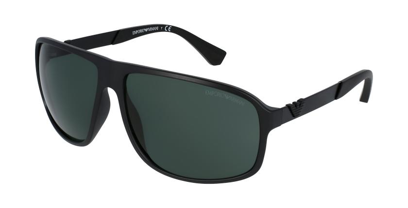 Gafas de sol hombre 0EA4029 negro - vue de 3/4