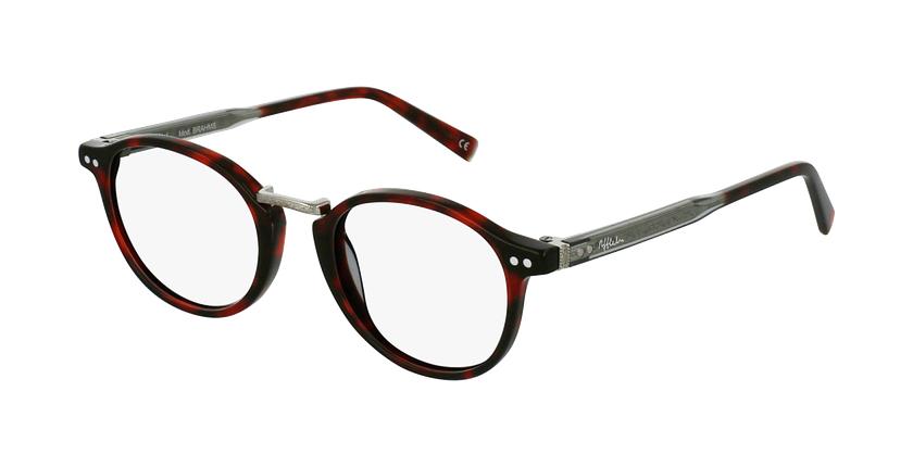 Gafas graduadas BRAHMS rojo - vue de 3/4