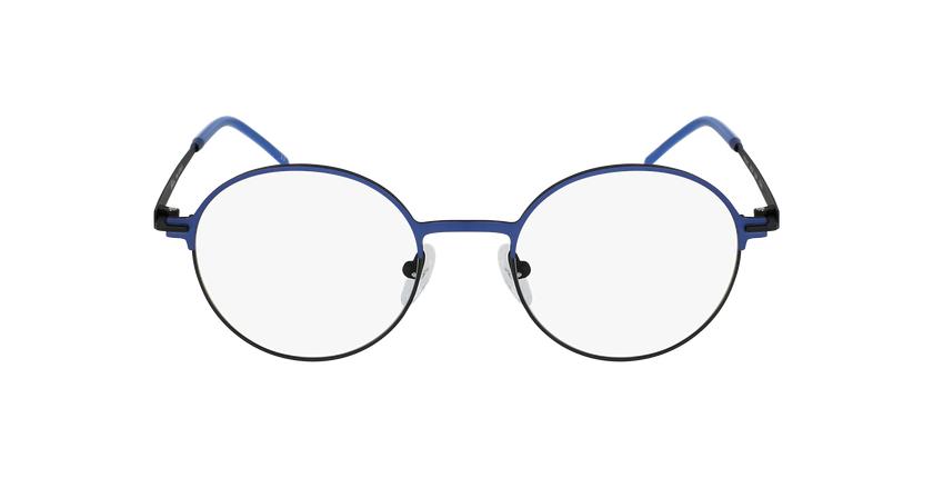 Gafas graduadas mujer VENUS azul/negro - vista de frente