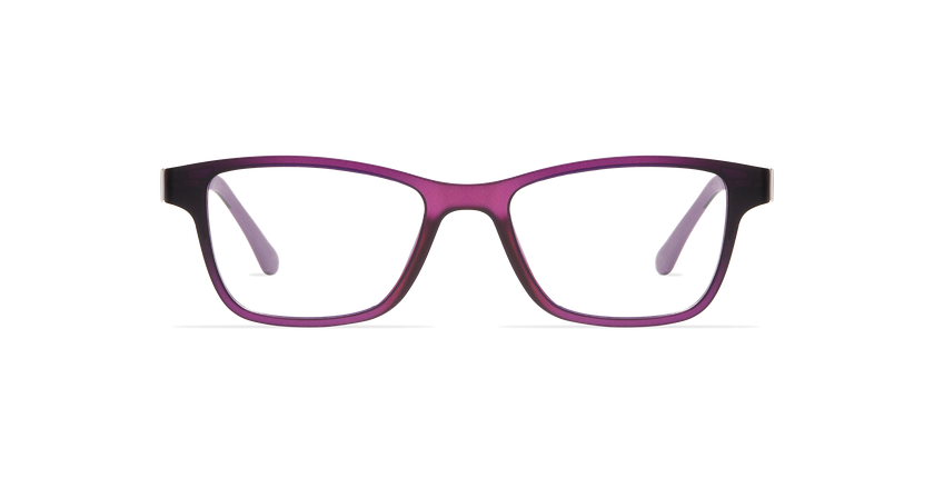 Gafas graduadas mujer MAGIC 04 morado/morado frozen - vista de frente