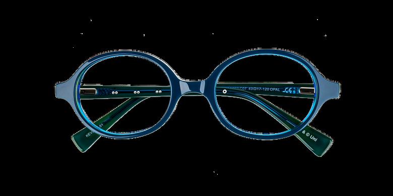 Gafas graduadas niños KEVIN azul/amarillo