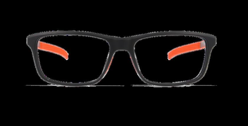 Gafas graduadas hombre ERIC negro - vista de frente