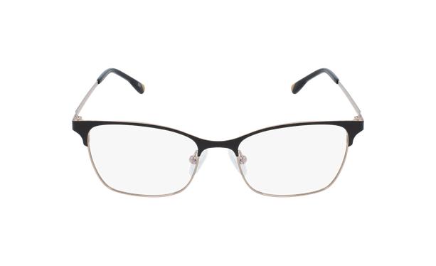 Gafas graduadas mujer MAGIC 55 BLUEBLOCK negro/dorado - vista de frente