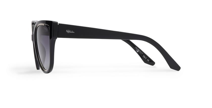 Gafas de sol mujer MAHEA POLARIZED negro/plateado - vista de lado