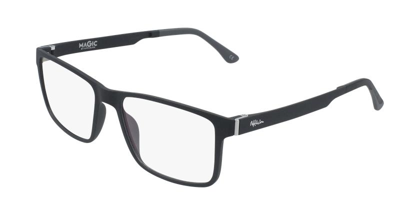 Gafas graduadas hombre MAGIC 59 BLUEBLOCK negro - vue de 3/4