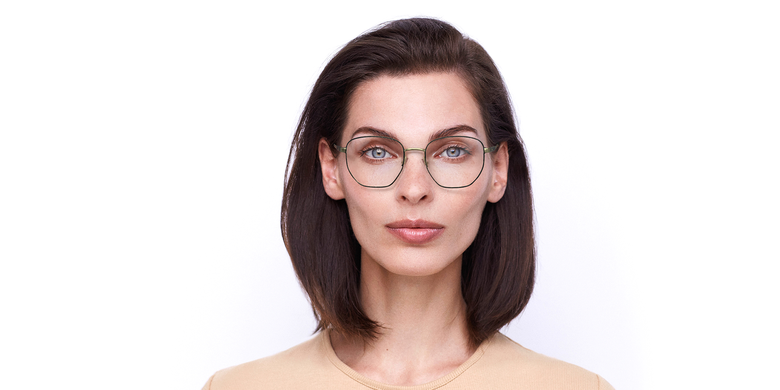 Gafas graduadas mujer ERIN negro/dorado
