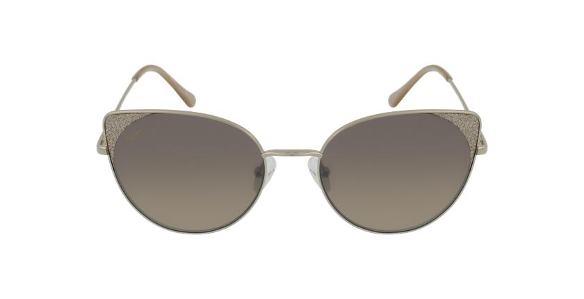 Gafas de sol mujer VILLALBA dorado - vista de frente