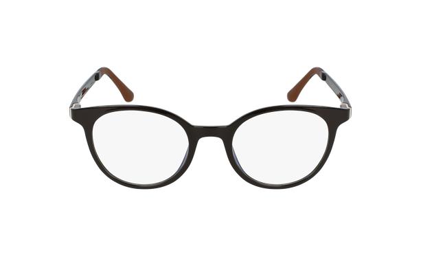 Gafas graduadas mujer MAGIC 36 BLUE BLOCK marrón - vista de frente