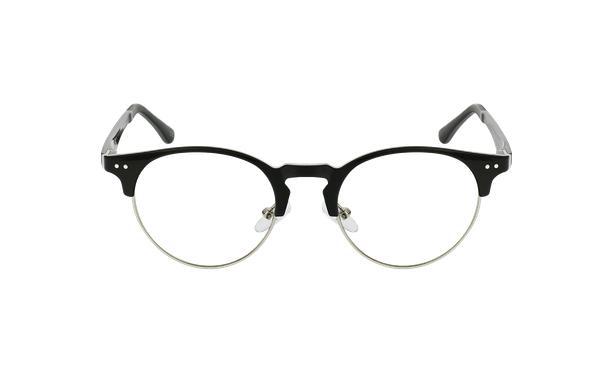 Gafas graduadas TMG93 negro/plateado - vista de frente
