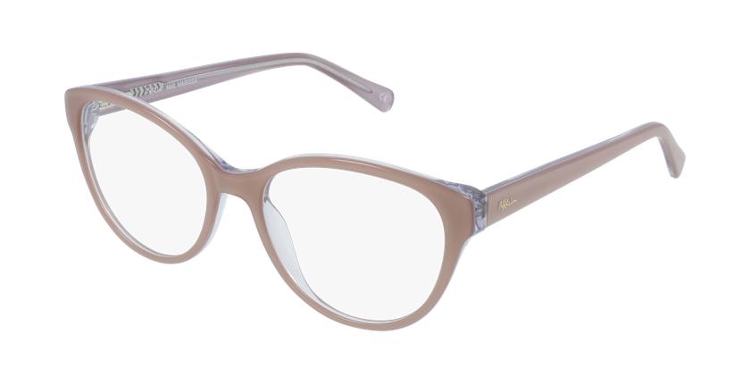 Gafas graduadas mujer OAF20521 marrón - vue de 3/4