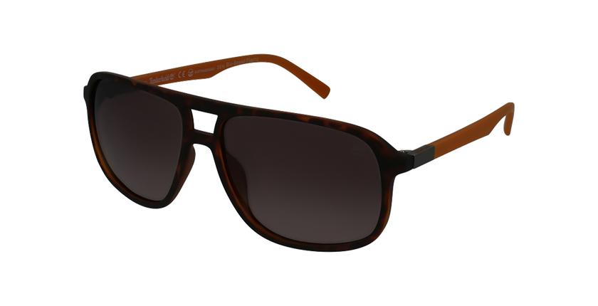 Gafas de sol hombre TB9200 marrón - vue de 3/4