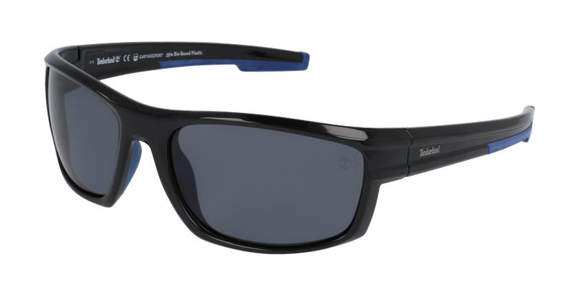 Gafas de sol hombre TB9171 negro - vue de 3/4