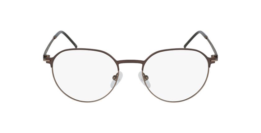 Gafas graduadas hombre JUPITER marrón - vista de frente