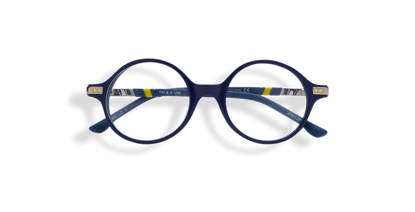 Gafas graduadas niños BELLO1 azul/amarillo - vista de frente