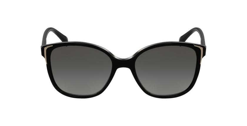 Gafas de sol mujer 0PR 01OS negro - vista de frente