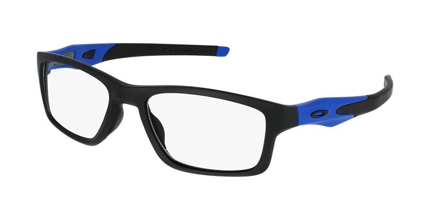 Gafas graduadas hombre OX8090 negro - vue de 3/4