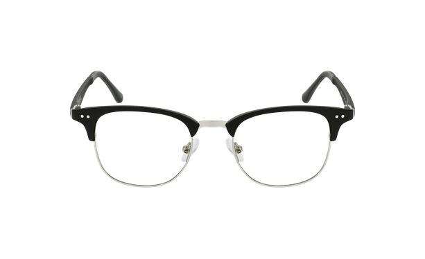 Gafas graduadas TMG92 negro/plateado - vista de frente