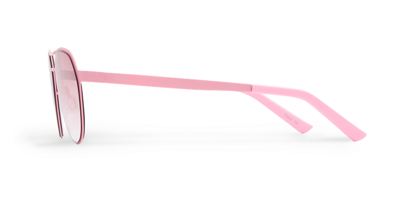Gafas de sol hombre DAYTONA rosa - vista de lado