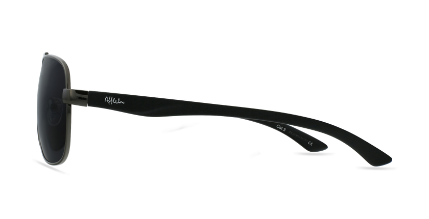 Gafas de sol hombre CRUZ negro/gris - vista de lado