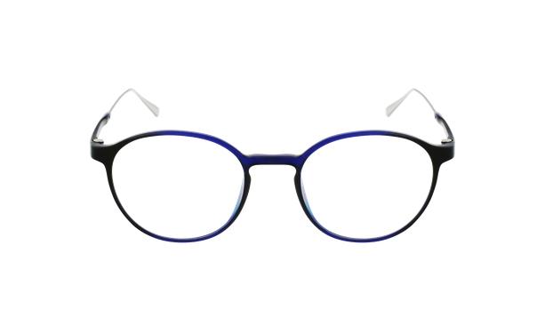 Gafas graduadas MAGIC 65 azul/plateado - vista de frente