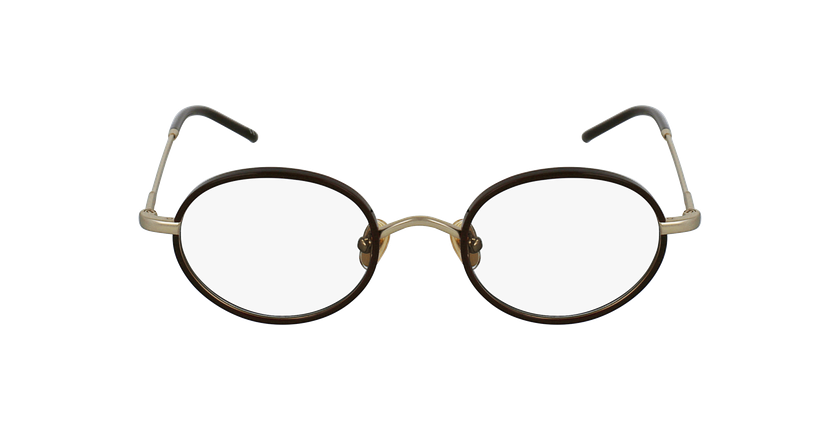 Gafas graduadas PUCCINI dorado/rojo - vista de frente