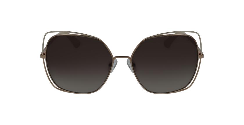 Gafas de sol mujer GU7638 dorado - vista de frente