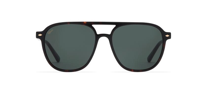 Gafas de sol hombre LUC carey - vista de frente