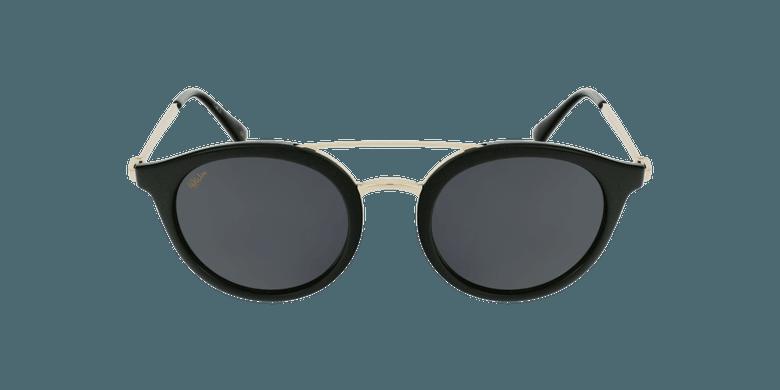 Gafas de sol mujer ITABATA negro/doradovista de frente