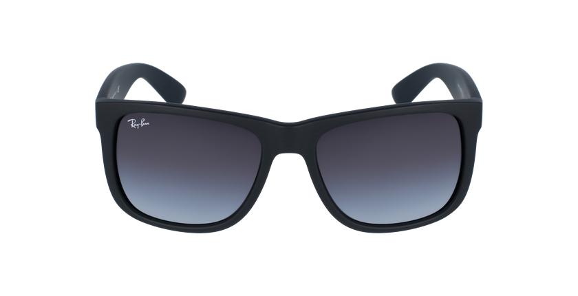 Gafas de sol hombre JUSTIN negro/negro - vista de frente
