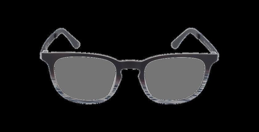 Gafas graduadas hombre MAGIC 07 negro/negro / marrón - vista de frente