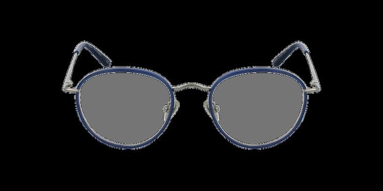 Gafas graduadas SHUBERT azul/plateadovista de frente